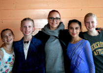 Oda, Johanna, Veronika, Alexandra og Eirill