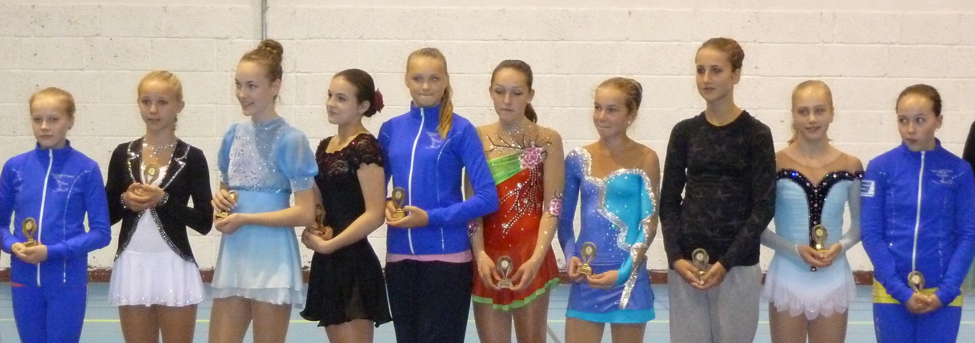 Inger, Emilie, Ingrid og Karin
