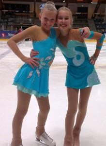 Premieutdeling TSK 26.10.13 - Lotte og Tiril