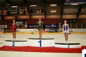 Kretsmesterskapet Basic, Ingunn på 1. plass og Hedvig på 3. plass