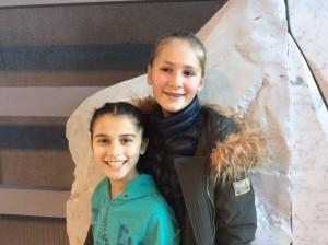 Alexandra og Idunn på Hamar.