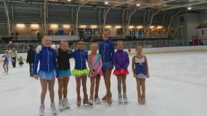 OI stevne 2015 Eirill, Johanna, Alexandra, Edle, Idun, Oda og Amalie.