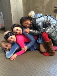 Fra øverst: Victoria, Ida, Elma og Marie